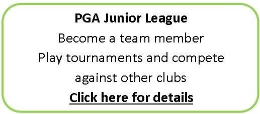 John Jacobs' Golf Schools & Academies teams up with the PGA and it's junior league for golfers ages 6-16.
