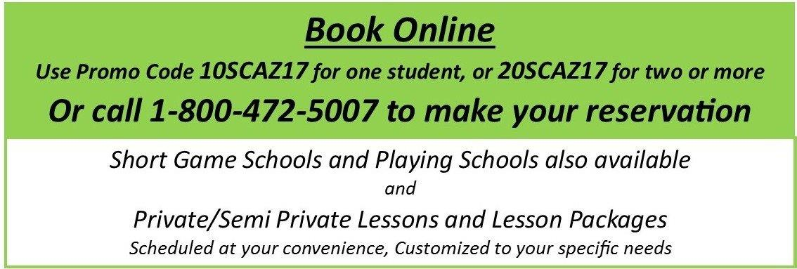 John Jacobs' Golf Schools & Academies offers 1-Day Mini Schools through May 2017